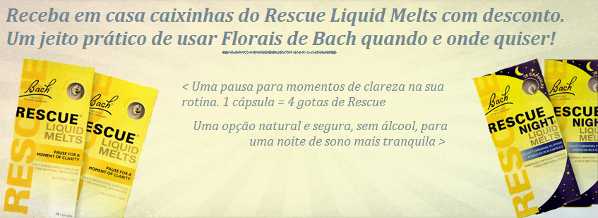 Florais de Bach Liquid Melts
