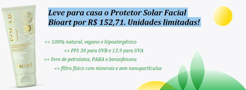 Bioart Protetor Solar