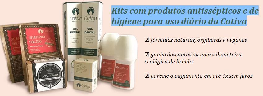 Kits Cativa Natureza