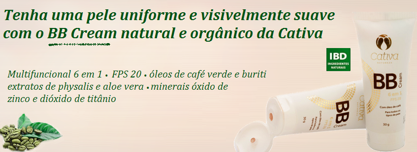 BB Cream Cativa Natureza