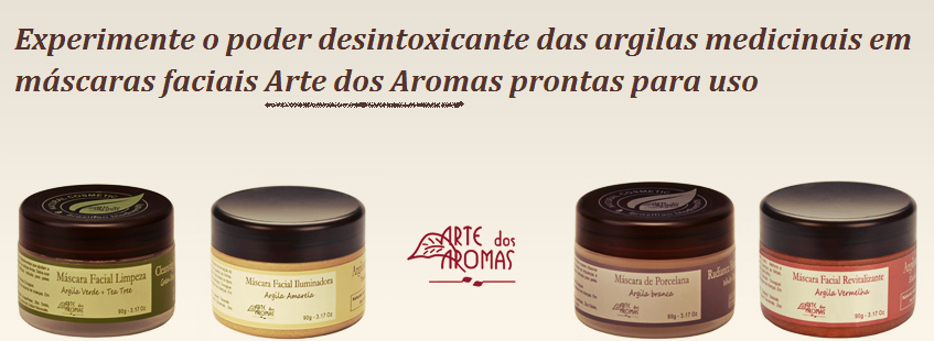 Argila Medicinal Arte dos Aromas