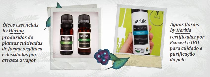Herbia oleos e aguas