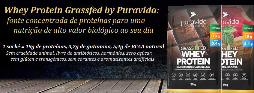 Puravida Whey Protein Grassfed