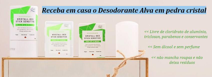 Desodorante Alva Cristal