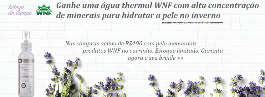 WNF & Beleza do Campo Promoção Água Thermal