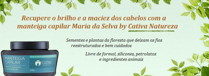 Manteiga Capilar Maria da Selva