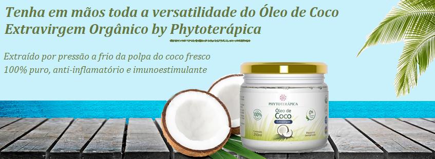 Óleo de Coco Extravirgem Phytoterápica