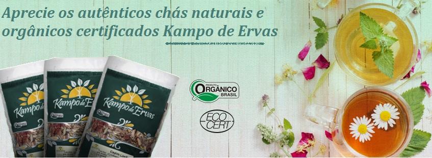 Chás Kampo de Ervas