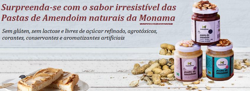 Pasta de Amendoim Monama