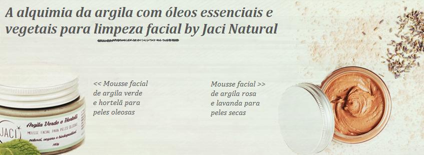 Mousse Facial Jaci Natural