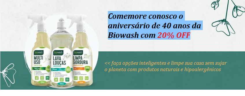Biowash 40 anos