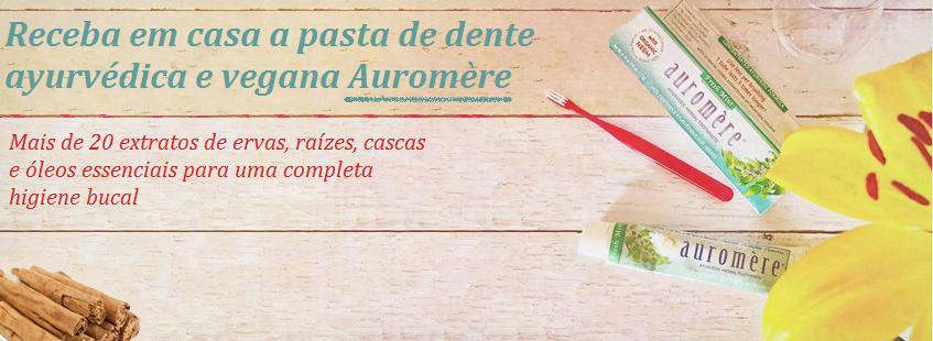 Pasta de Dente Auromere