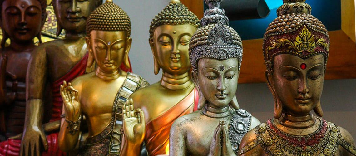 Esculturas Budas