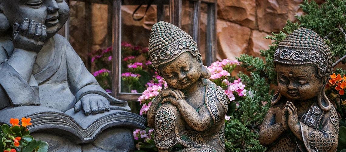 Estatua de Jardim