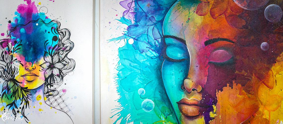 Pinturas em Tela - Full