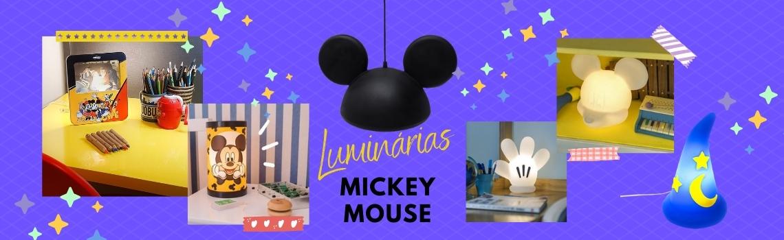 Luminárias Mickey