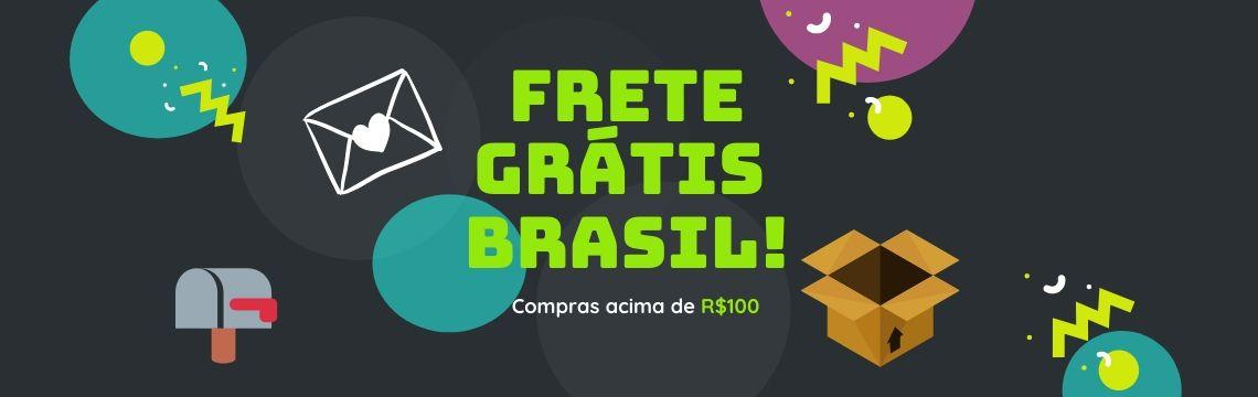 Frete Grátis Brasil COVID