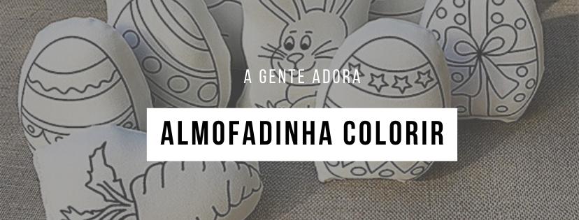 ALMOFADINHA COLORIR