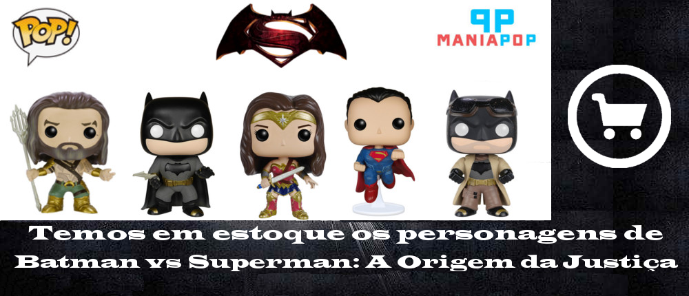 Banner Batman vs Superman Maniapop