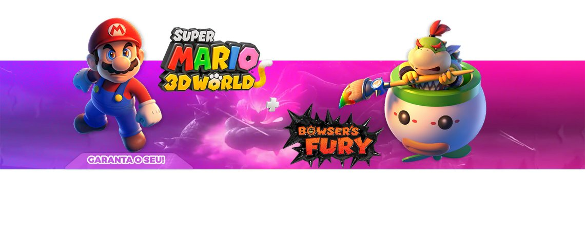 Super Mario 3D World + Bowser's Fury- Nintendo Switch