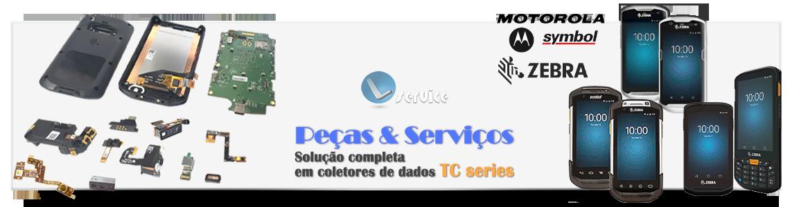 Peças & Serviços Coletor de Dados Zebra TC series