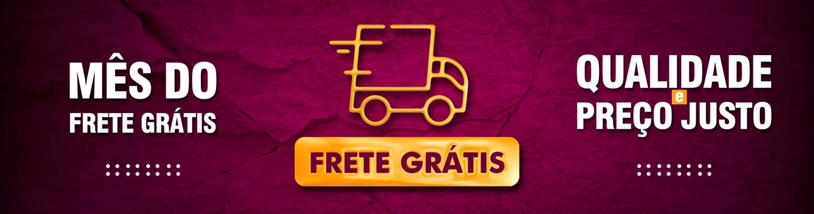 MÊS DO FRETE GRÁTIS