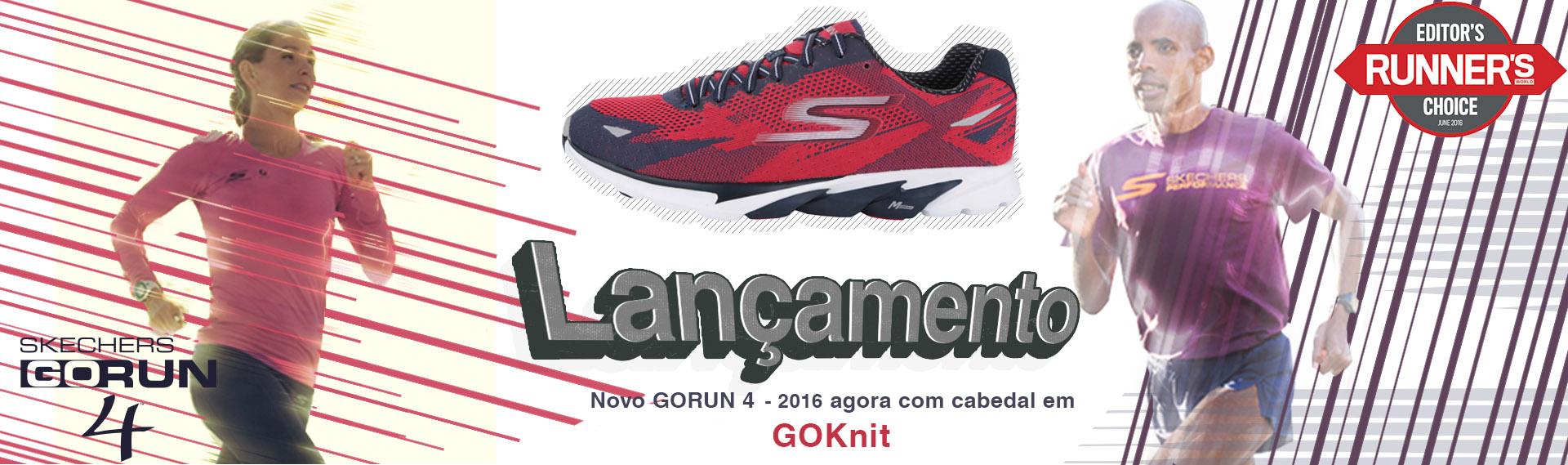 Lançamento - Skechers Gorun 4 - 2016