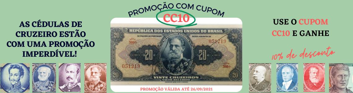 Cédulas de Cruzeiro 10