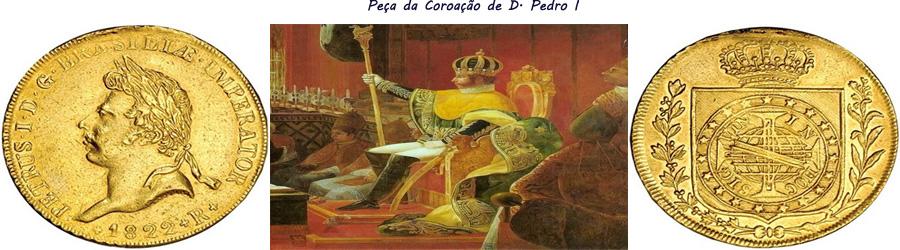 Peça da Coroação de D. Pedro I full banner