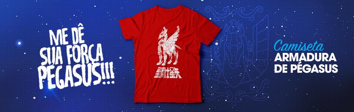 Camiseta armadura Seiya de Pegasus