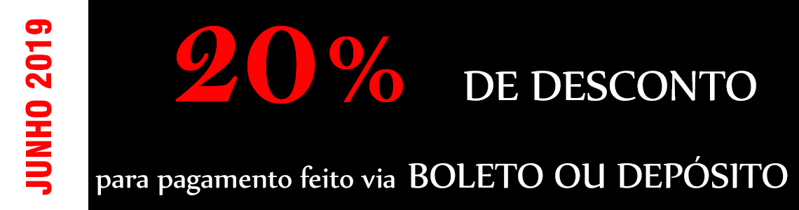 20% Desconto Depósito