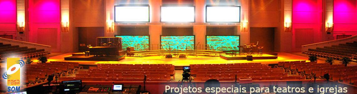 teatros e igrejas
