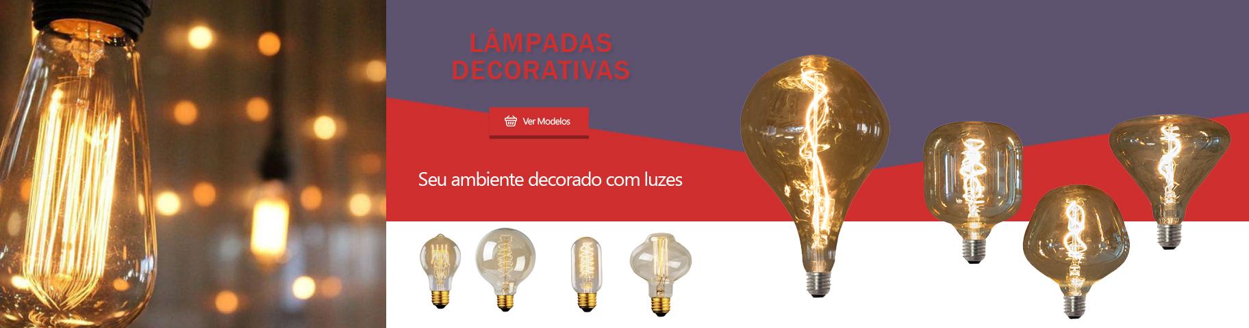 lâmpada DECORATIVA