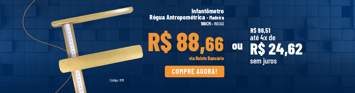 Infantômetro - Madeira - Indaiá