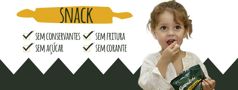 Gourmetzinho - Snacks