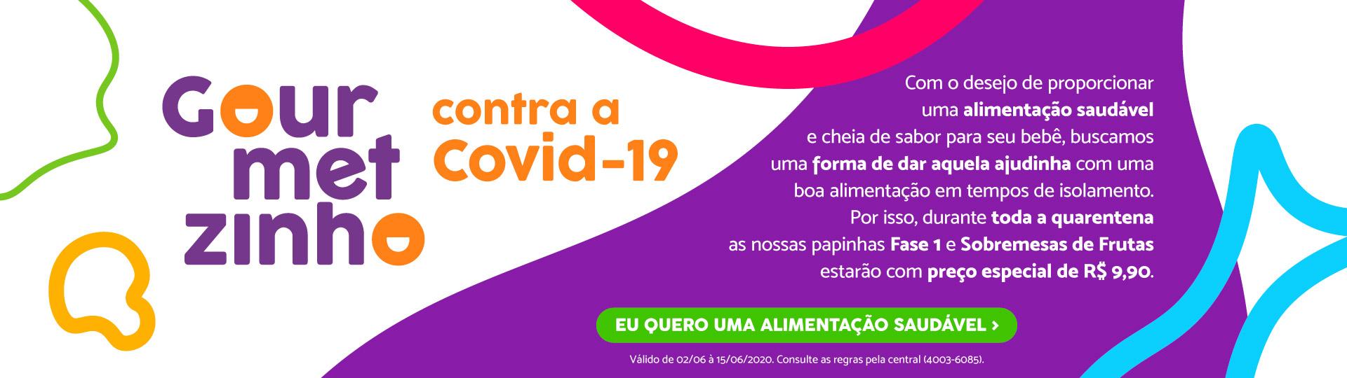 Gourmetzinho conta a COVID-19