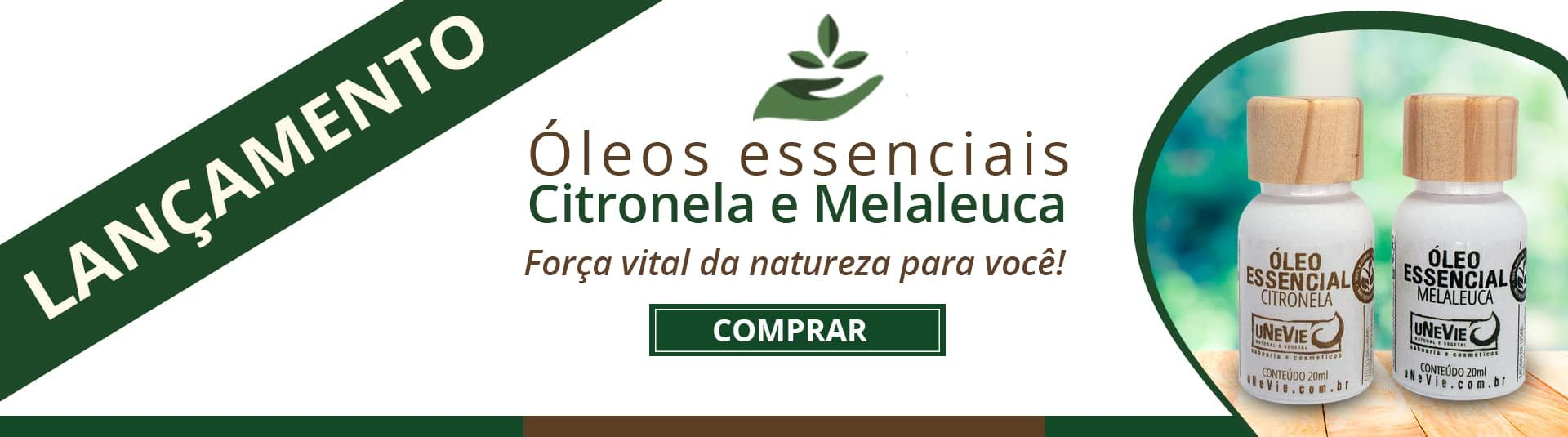 LR 2020-11-24 lançamento oe citronela e oe melaleuca