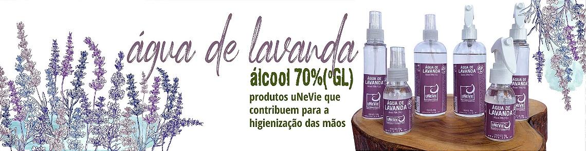 AGUA DE LAVANDA ALCOOL 70 UNEVIE