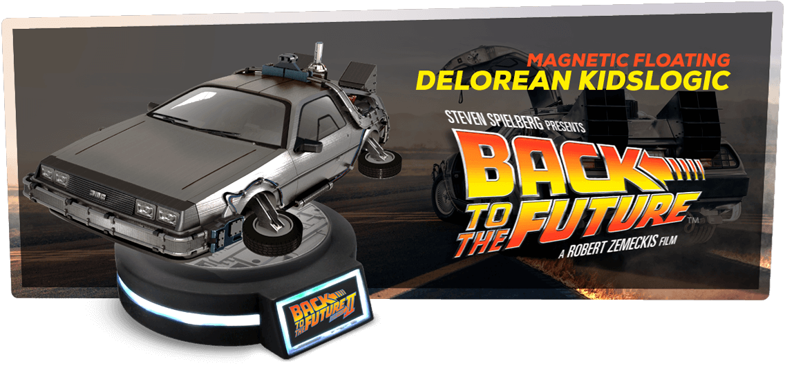 DeLorean DE VOLTA PARA O FUTURO ii Floating Version Kidslogic