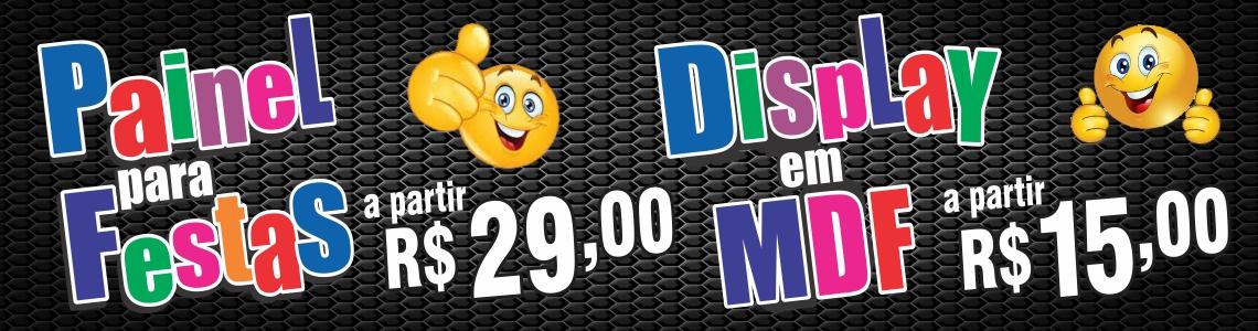 Painel Para Festas R$ 29,00