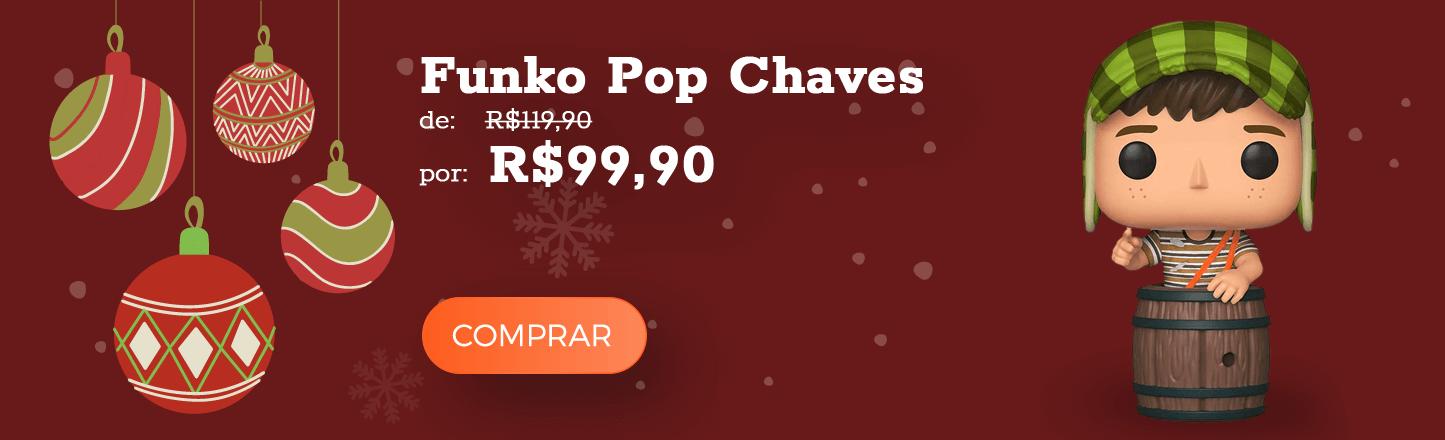 funko pop chaves presente natal