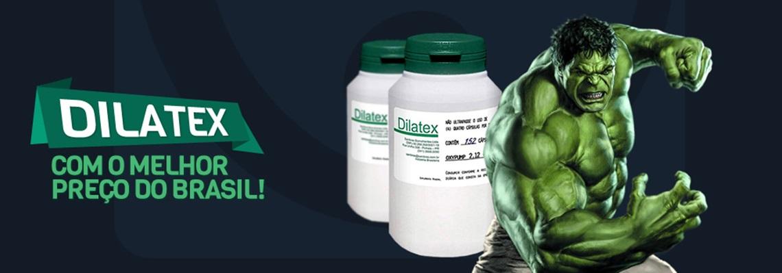 Dilatex em promoção