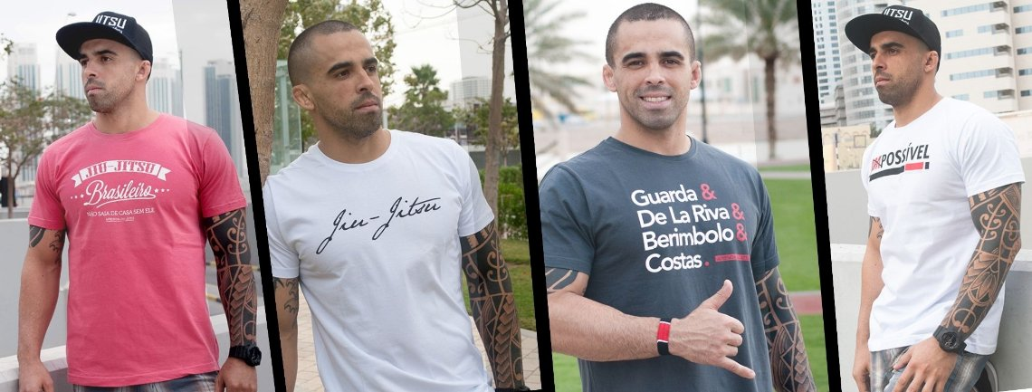 Camisetas Jiu-Jitsu