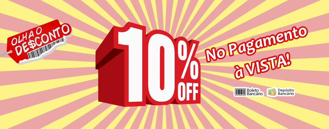 Desconto 10% Off