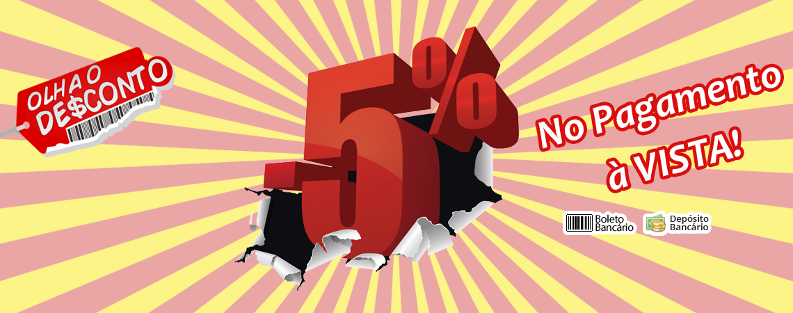 Desconto 5% Off
