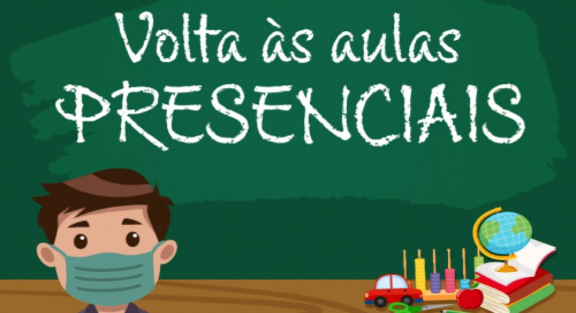 VOLTA AS AULAS PRESENCIAIS
