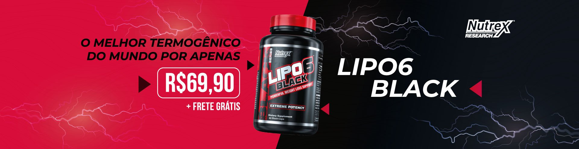 LIPO 6 BLACK  ULTRA CONCENTRADO NUTREX - 60 CAPS