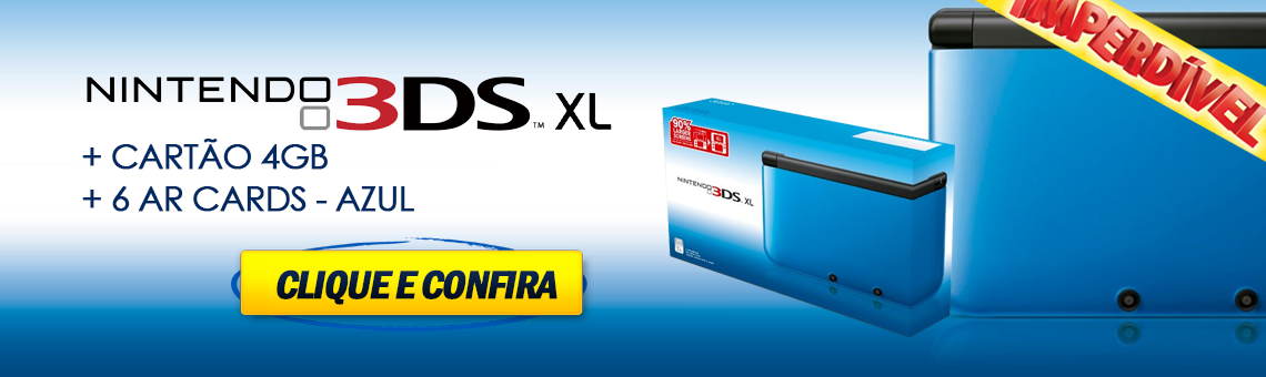 3Ds XL Azul