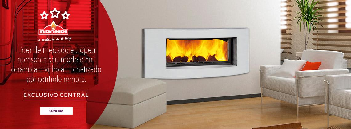 Conheça o calefator de cerâmica da Bronpi com vidro automatizado por controle remoto
