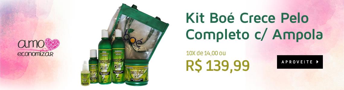 Kit Boé Crece Pelo Completo c/ Ampola